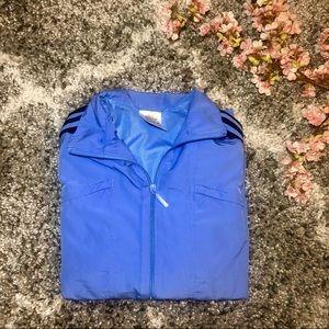 Adidas Periwinkle Blue Adidas Track Jacket